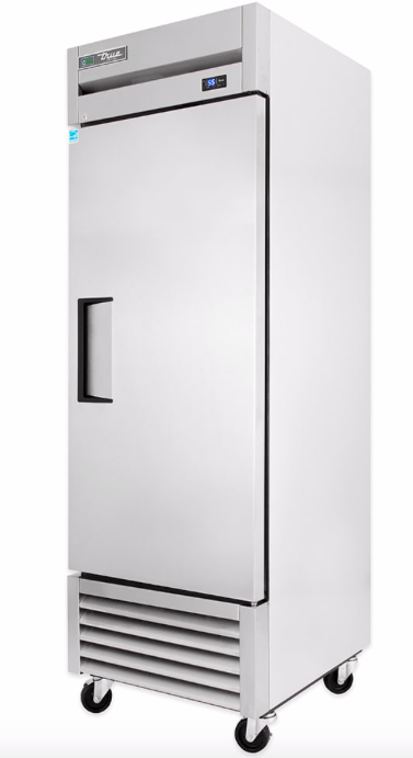 "True T-23F-HC 27"" Single Section Reach-In Freezer, (1) Right Hinge Solid Door, 115v"