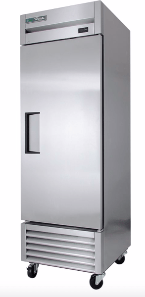 "True TS-23F-HC 27"" One Section Reach-In Freezer, (1) Right Hinge Solid Door, 115v"