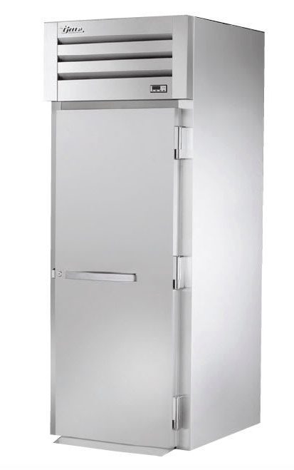 "True STR1FRI-1S 35"" Single Section Roll-In Freezer, (1) Solid Door, 115v"