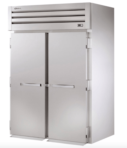 "True STA2FRI-2S 68"" Two Section Roll-In Freezer, (2) Solid Door, 115v/208-230v, 1ph"