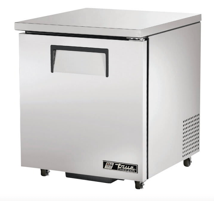 "True TUC-27F-ADA-HC 28"" W Undercounter Freezer w/ (1) Section & (1) Right Hinge Door, 115v"
