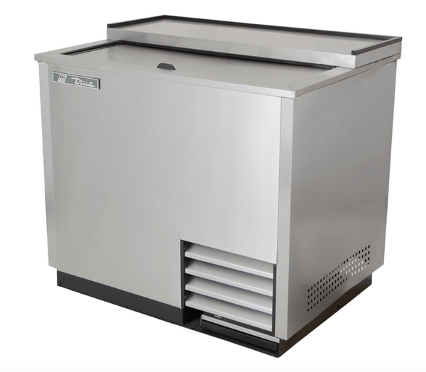 True T-36-GC-S 1 Section Glass Chiller w/ 180 Mug Capacity, Stainless, 115v