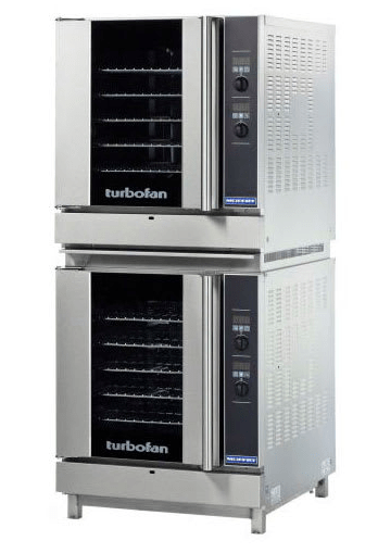 Moffat G32D5/2 Turbofan® Double Full Size Natural Gas Convection Oven - 66,000 BTU