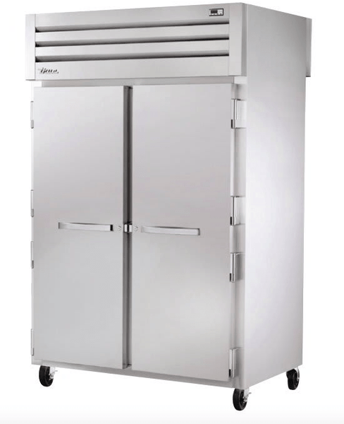 True STA2HPT-2S-2S Full Height Insulated Mobile Heated Cabinet w/ (6) Pan Capacity, 208-230v/1ph