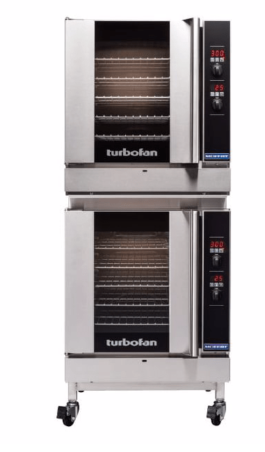 Moffat G32D5/2C Turbofan® Double Full Size Natural Gas Convection Oven - 33,000 BTU