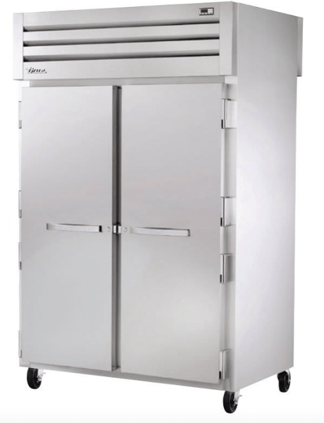 True STG2HPT-2S-2S Full Height Insulated Mobile Heated Cabinet w/ (6) Pan Capacity, 208-230v/1ph