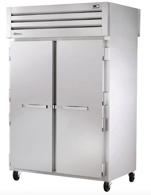 True STR2HPT-2S-2S Full Height Insulated Mobile Heated Cabinet w/ (6) Pan Capacity, 208-230v/1ph