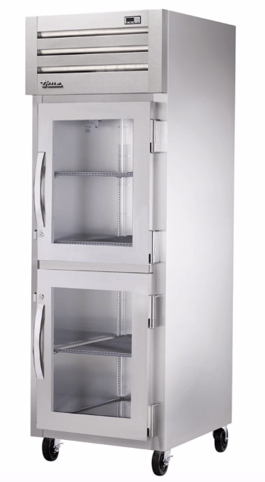 True STG1H-2HG Full Height Insulated Mobile Heated Cabinet w/ (3) Pan Capacity, 208-230v/1ph