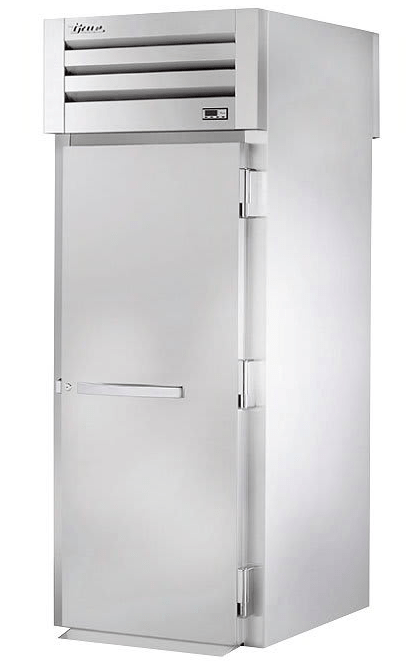 True STR1HRT89-1S-1S Full Height Insulated Mobile Heated Cabinet w/ (1) Rack Capacity, 208-230v/1ph
