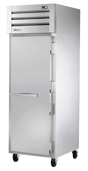 True STA1H-1S Full Height Insulated Mobile Heated Cabinet w/ (3) Pan Capacity, 208-230v/1ph