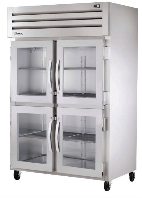 True STA2H-4HG Full Height Insulated Mobile Heated Cabinet w/ (6) Pan Capacity, 208-230v/1ph