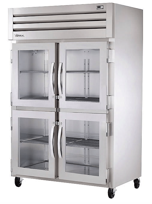 True STR2H-4HG Full Height Insulated Mobile Heated Cabinet w/ (6) Pan Capacity, 208-230v/1ph