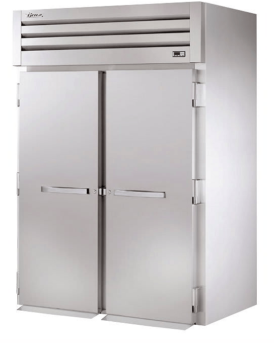 True STG2HRI-2S Full Height Insulated Mobile Heated Cabinet w/ (2) Rack Capacity, 208-230v/1ph