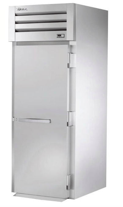 True STR1HRI-1S Full Height Insulated Mobile Heated Cabinet w/ (1) Rack Capacity, 208-230v/1ph