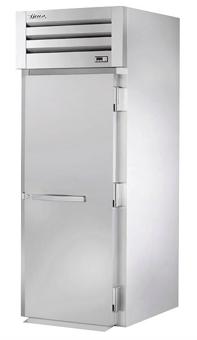 True STR1HRI89-1S Full Height Insulated Mobile Heated Cabinet w/ (1) Rack Capacity, 208-230v/1ph