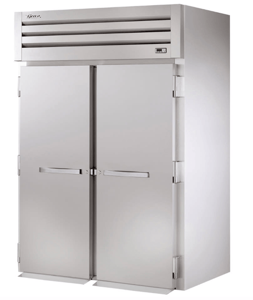 True STR2HRI-2S Full Height Insulated Mobile Heated Cabinet w/ (2) Rack Capacity, 208-230v/1ph