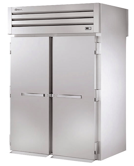 True STR2HRT-2S-2S Full Height Insulated Mobile Heated Cabinet w/ (2) Rack Capacity, 208-230v/1ph
