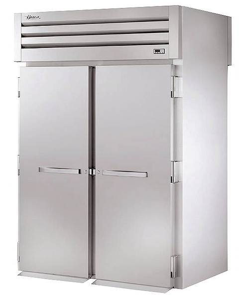 True STA2HRT-2S-2S Full Height Insulated Mobile Heated Cabinet w/ (2) Rack Capacity, 208-230v/1ph