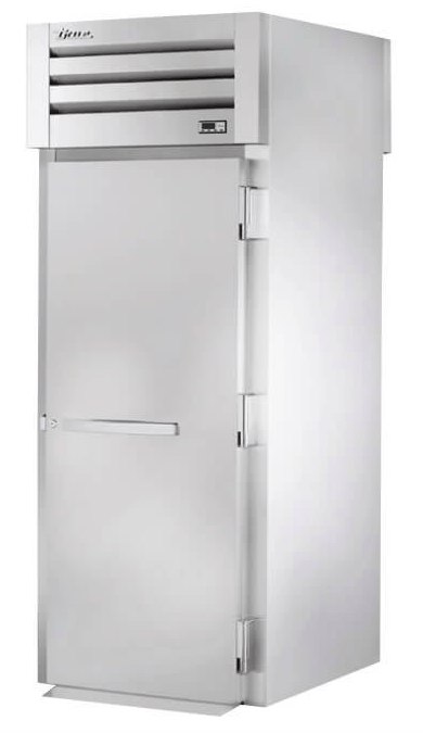 True STG1HRT89-1S-1S Full Height Insulated Mobile Heated Cabinet w/ (1) Rack Capacity, 208-230v/1ph