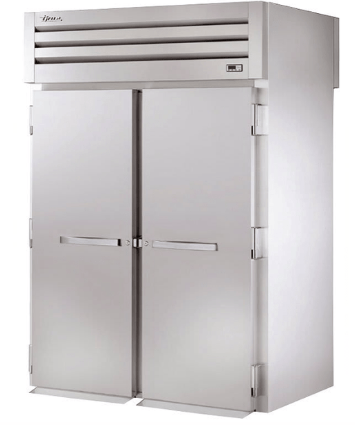 True STG2HRT-2S-2S Full Height Insulated Mobile Heated Cabinet w/ (2) Rack Capacity, 208-230v/1ph