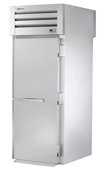 True STR1HRT-1S-1S Full Height Insulated Mobile Heated Cabinet w/ (1) Rack Capacity, 208-230v/1ph