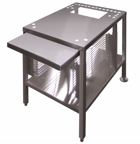 "Cleveland UNISTAND34 22"" x 28"" Stationary Equipment Stand for Countertop Steamers, Undershelf"
