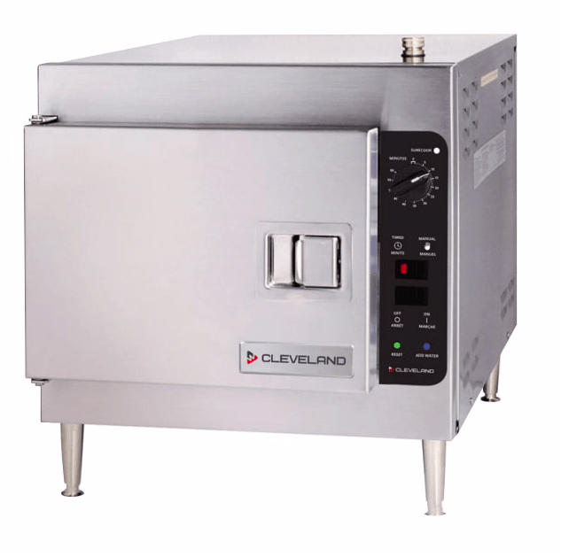Cleveland 21CET8 (3) Pan Convection Steamer - Countertop, 240v/3ph