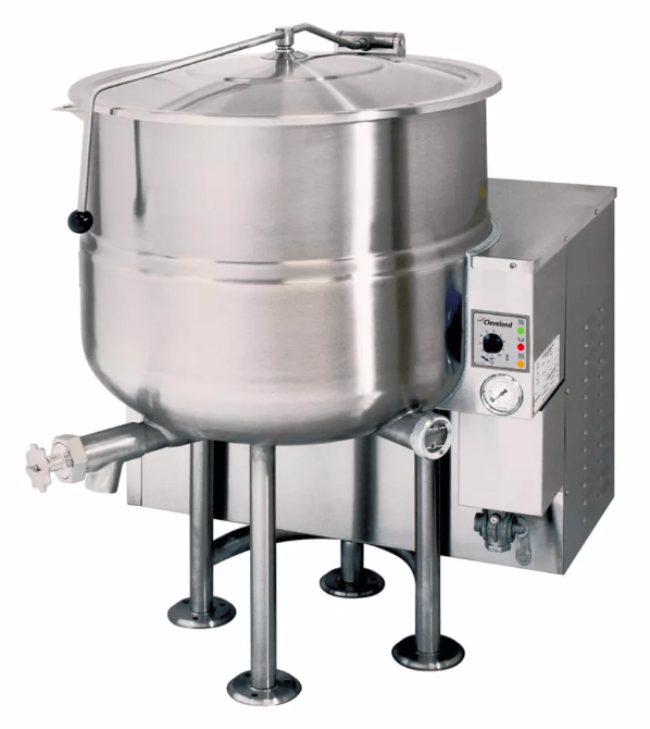 Cleveland KGL80 80 gal Steam Kettle - Stationary, 2/3 Jacket, Liquid Propane