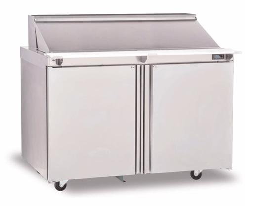 "Delfield 4448NP-12 48"" Sandwich/Salad Prep Table w/ Refrigerated Base, 115v"