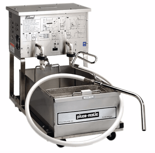 Pitco P14 55 lb Commerical Fryer Filter - Suction, 120v