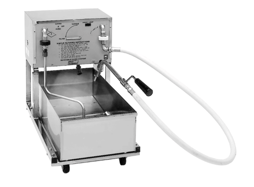 Pitco P18 75 lb Commercial Fryer Filter - Suction, 120v