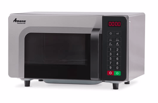Amana RMS10TSA 1000w Commercial Microwave with Touch Pad, 120v