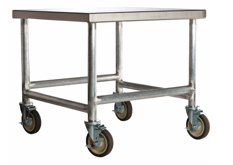 "Amana CA30 Cart w/ Casters, Stainless Top & Aluminum Frame, 30 x 26 x 26"" D"