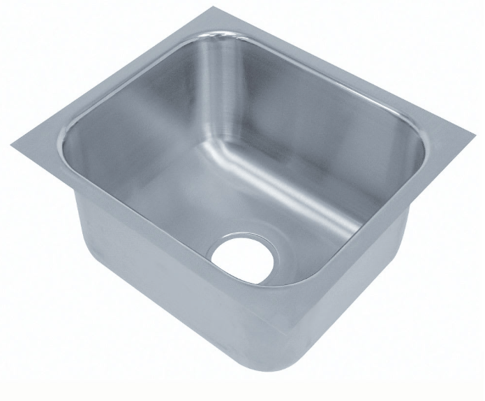 "Advance Tabco 1014A-10 (1) Compartment Undermount Sink - 10"" x 14"""