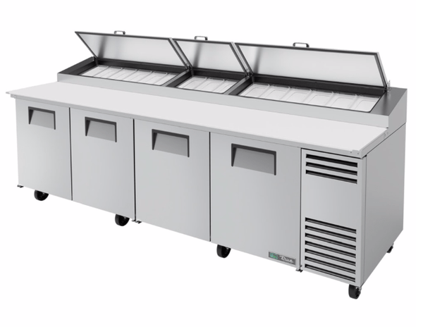 "True TPP-AT-119-HC 119"" Pizza Prep Table w/ Refrigerated Base, 115v"