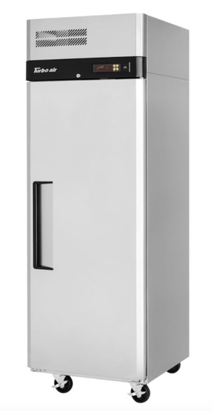"Turbo Air M3R24-1-N 28 3/4"" One Section Reach In Refrigerator, (1) Right Hinge Solid Door, 115v"