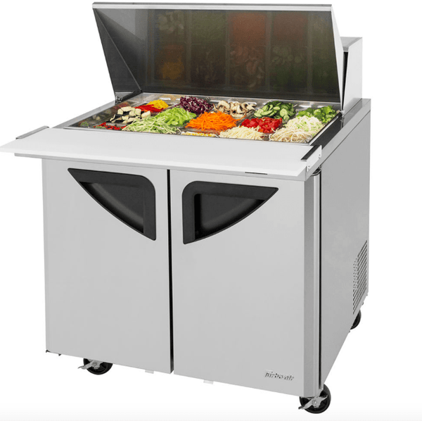 "Turbo Air TST-36SD-15-N6 36"" Sandwich/Salad Prep Table w/ Refrigerated Base, 115v"