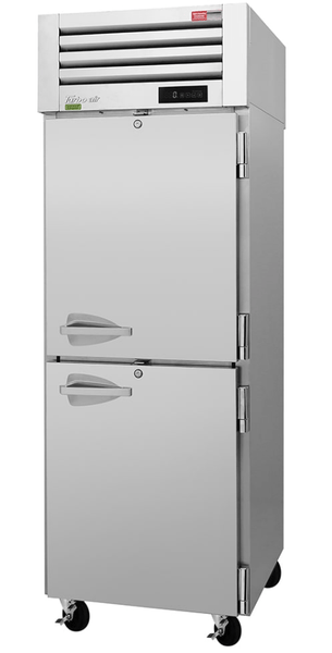 "Turbo Air PRO-26-2F-N 29"" Single Section Reach In Freezer, (2) Solid Doors, 115v"