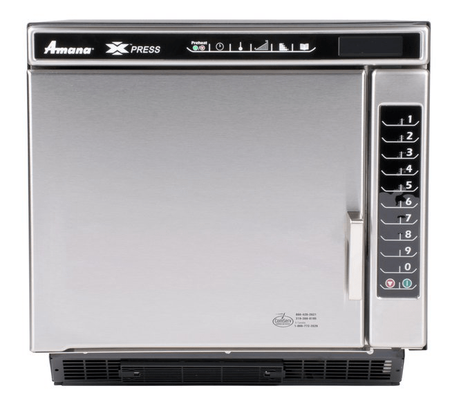 Amana Xpress JET14V Jetwave High-Speed Accelerated Cooking Ventless Countertop Oven