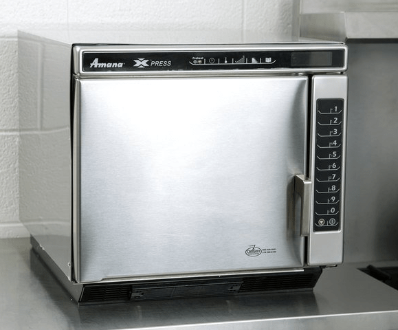 Amana Xpress JET19V Jetwave High-Speed Accelerated Cooking Ventless Countertop Oven
