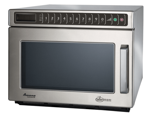 Amana MDC182 1800w Commercial Microwave with Touch Pad, 240v/1ph