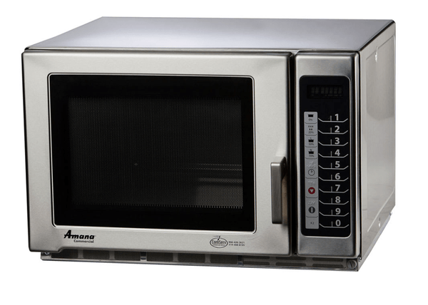 Amana MFS18TS 1800w Commercial Microwave w/ Braille Touch Pad, 240v/1ph