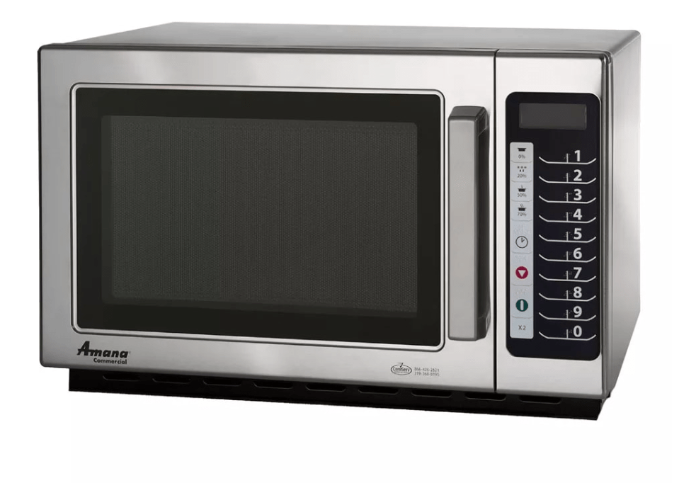 Amana MCS10TS 1000w Commercial Microwave w/ Touch Pad, 120v