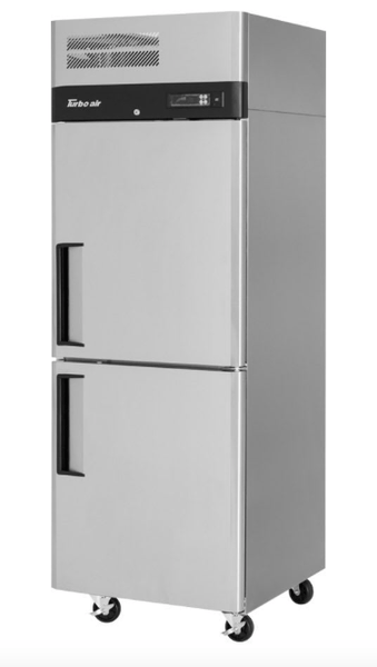 "Turbo Air M3F24-2-N 29"" One Section Reach-In Freezer, (2) Solid Doors, 115v"