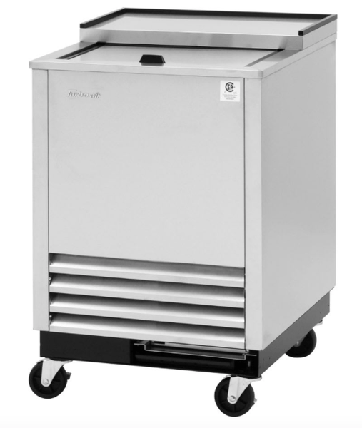 Turbo Air TBC-24SD-GF-N6 1 Section Glass Chiller w/ 48 Mug Capacity, Stainless, 115v