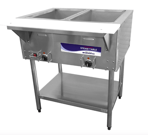 Turbo Air RST-2P Hot Food Steam Table w/ (2) Wells, 120v