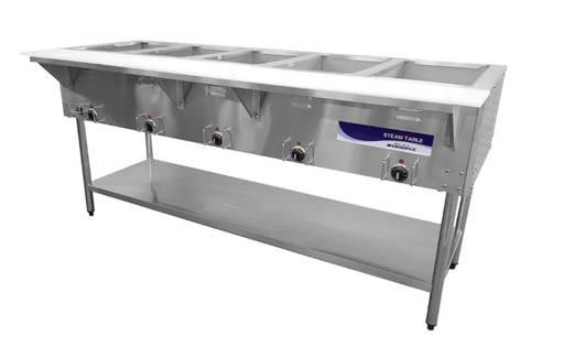 Turbo Air RST-5P Hot Food Steam Table w/ (5) Wells, 240v/1ph