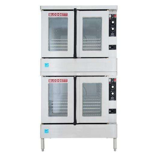 Blodgett BDO-100-G-ES Double Full Size Natural Gas Convection Oven - 45,000 BTU