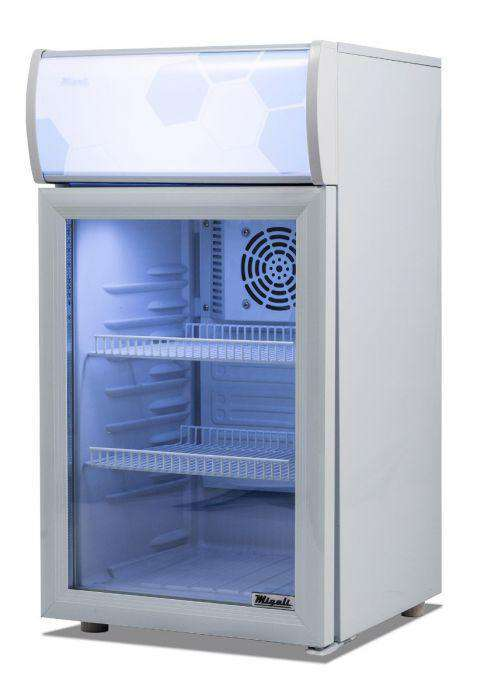 Migali - C-02RM 2 cu/ft Glass Door Merchandiser Refrigerator