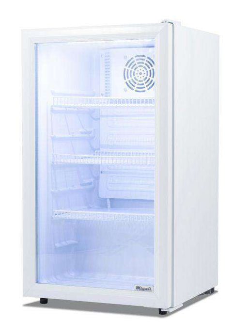 Migali - C-04RM 4 cu/ft Glass Door Merchandiser Refrigerator